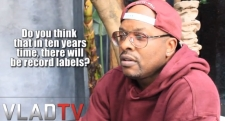 DJ Jazzy Jeff on record labels – 'Drake shouldn't have went with a label'